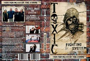 Carl-Cooper-039-s-TOXIC-Fighting-System-CORE-STRIKING-Self-Defence-Krav-Maga-MMA-DVD