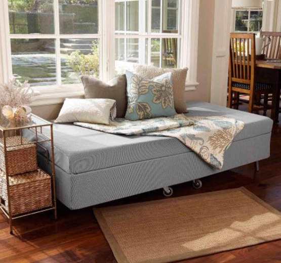 zinus memory foam resort folding guest bed twin for sale online ebay. Black Bedroom Furniture Sets. Home Design Ideas