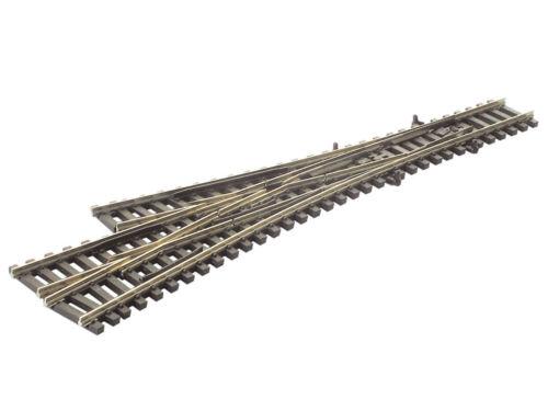 3-Weg-Weiche asymetrisch mit leitenden Herzstücken Code 55 Peco SL-E399F NEU