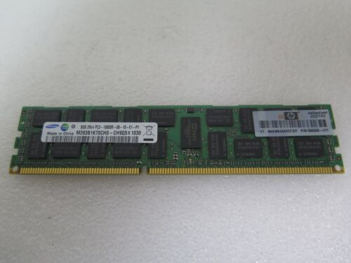 HP 8GB PC3-10600R DDR3-1333MHz ECC Reg Memory Module 500205-071
