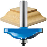 Rockler Ogee Horizontal Raised Panel Router Bit, 2-1/2 Diameter X 5/8h