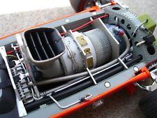 Lotus Race Car w/ Turbine Engine Motor & Sport Wheel Vintage GP F 1 Indy Model