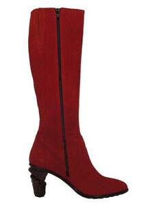 Details about Lisa Tucci Red Leather Boots exceptionally AMANTEA Goat Rosso Shoe Red show original title