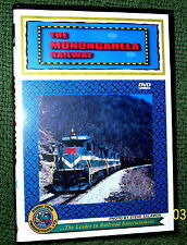 "cp064 TRAIN VIDEO DVD ""THE MONONGAHELA RAILWAY"" HAULING COAL PENNSYLVANIA"