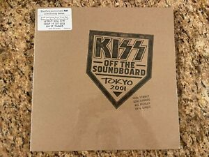 Kiss Off The Soundboard Tokyo 2001 3 LP Set NEW