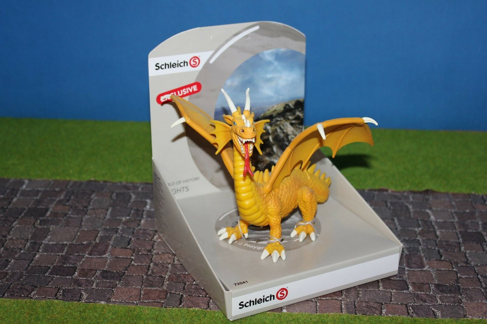 Schleich 72041 Yellow Dragon Limited Special Model Limited Nip Misb