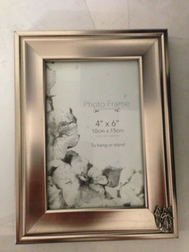 Angel R112 cadre photo argent 6X4 5x7 6x8 8x10 8x6 accroche//support