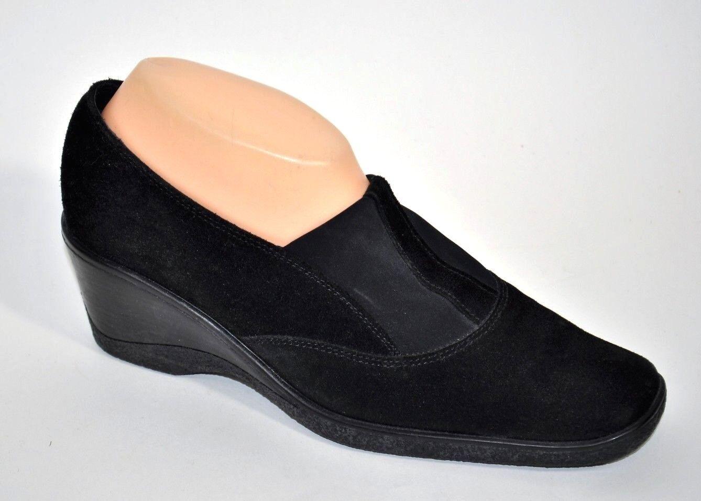 vendita all'ingrosso Aquatalia by Marvin K nero Stretch Suede donna scarpe Pumps Pumps Pumps Wedges Dimensione 9 EUC  controlla il più economico