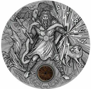 Niue-2018-PERUN-Slavic-Gods-2-Oz-2-Silver-Coin