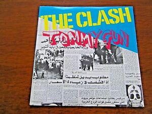 THE-CLASH-TOMMY-GUN-B-W-1-2-CRUSH-ON-YOU-LIVE-UK-CBS-IMPORT-7-034-PUNK-45-RPM