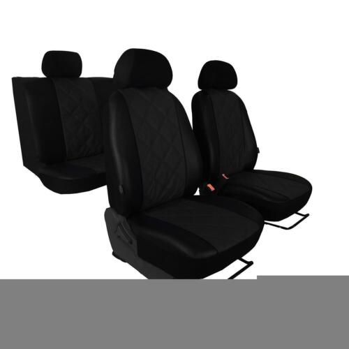 Universal Autositzbezüge Schwarz für Audi A4 B5 Schonbezüge Set Bezug Autositz