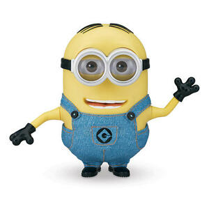 Despicable-Me-2-25-cm-Talking-Singing-Electronic-Minion-Dave-Collector-039-s-Edition