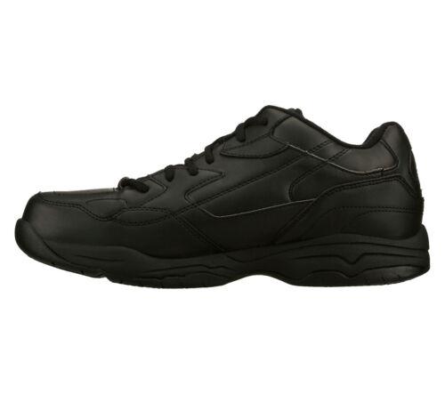 77032 Negro Trabajo Zapato Skechers Ew Viscoelástica Hombre Espuma Ancho rH7fqrwxU