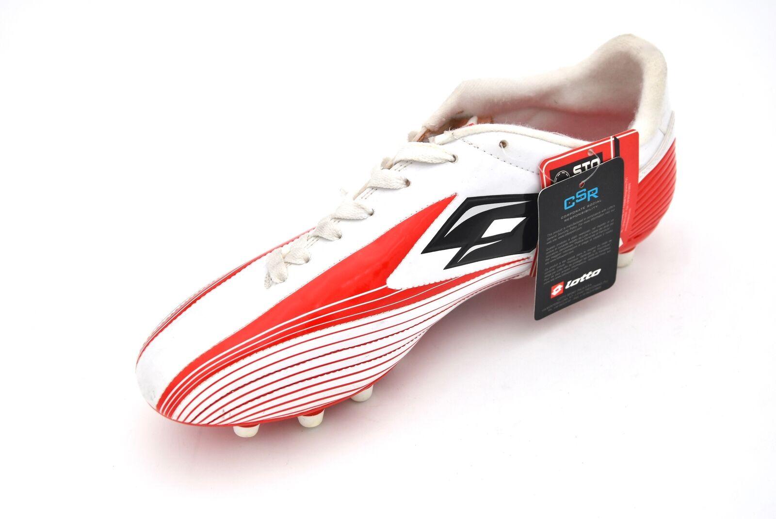 LOTTO MAN SPORTS FOOTBALL SOCCER CLEATS Chaussures CODE K3354 ZHERO FLASH TRE FG.