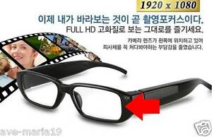 97ace18670a2 HD 1080P Glasses Mini Spy Hidden Camera Support 2-32GB TF Card Video ...