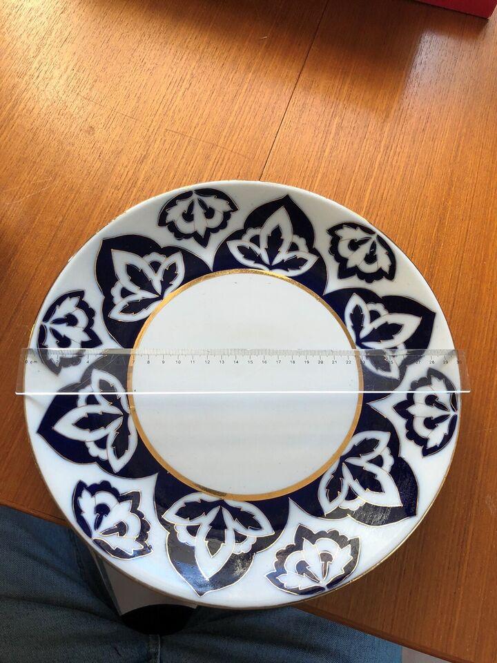 Porcelæn, Fad 30cm
