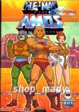 He-Man y los Amos del Universo Segunda Temporada en Español Latino Volumen 1 y 2