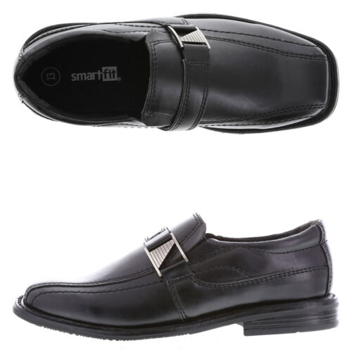 Smartfit Boy/'s Nathan Buckle Dress SHoes