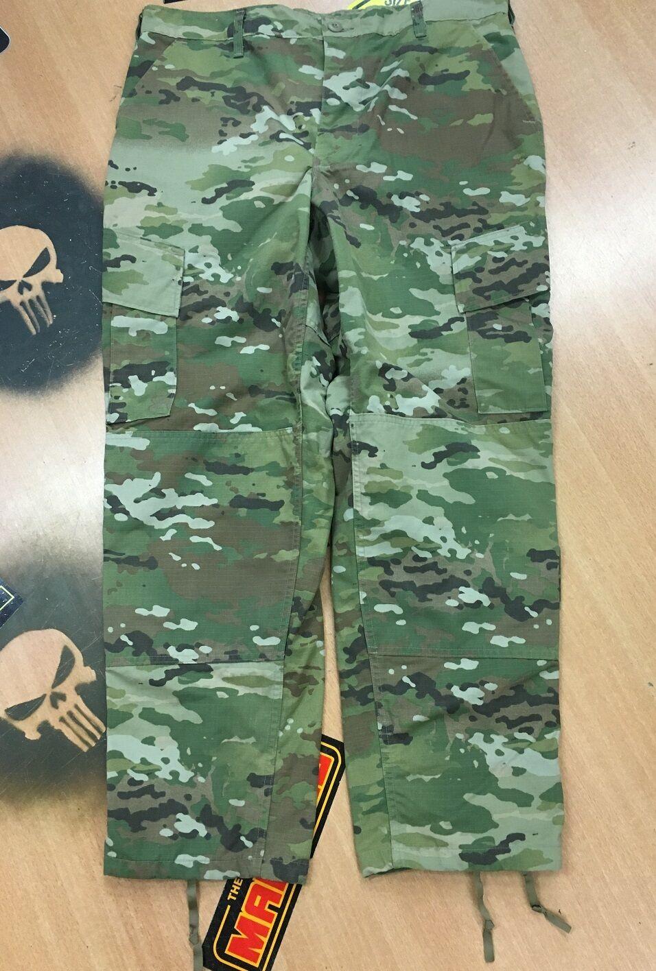 Us Army Ocp Acu Scorpion W2 Combat Uniform Camo Pants Trousers Longsleeve Large