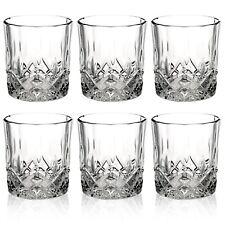 6 PCS Whiskey Tumblers Drinking Glasses Gift Boxed Set Wedding Present Xmas NEW