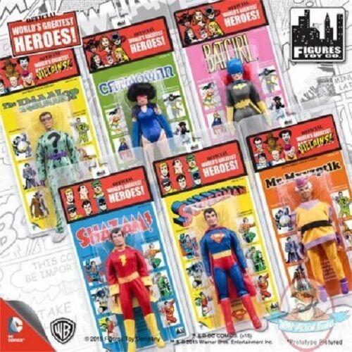 DC Comics Retro Kresge Style Figures Series 1 Set of 6 Figures Toy