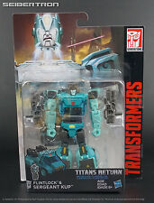 SERGEANT KUP + FLINTLOCK Transformers Titans Return Generations Deluxe 2017 New