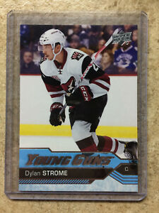 16-17-UD-Upper-Deck-Series-2-YG-Young-Guns-498-DYLAN-STROME-RC-Rookie