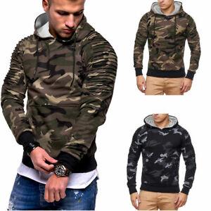 Men-039-s-Hooded-Hoodie-Hoody-Winter-Warm-Sweater-Jacket-Coat-Sweatshirt-Outwear