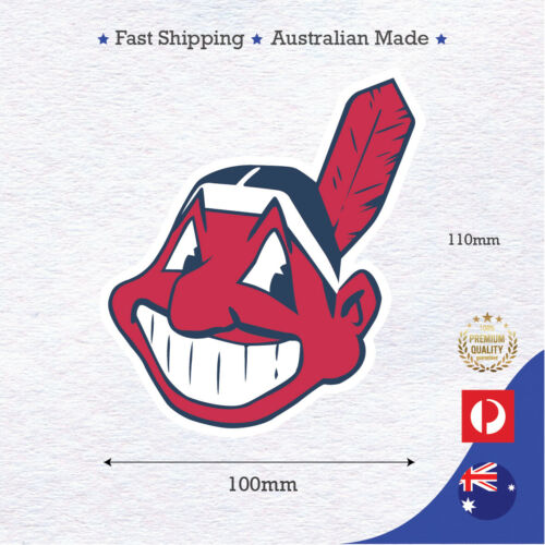 Cleveland indians baseball sports sticker decall