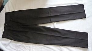 NUOVO-Uomo-Nero-Alexandra-Workwear-Pantaloni-Taglia-28-034-Girovita-x-31-034-interno-gamba-NUOVO-con