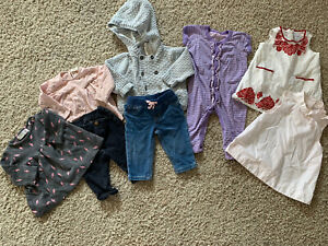 Baby-Girl-3-6-Months-Clothing-Lot-Zara-Baby-Gap-Janie-And-Jack