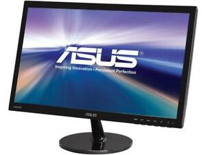 """ASUS VS Series VS228H-P 22"""" (21.5"""" Diagonal) Full HD 1920 x 1080 HDMI VGA DVI-D"""