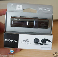 Sony NWZ-B183F 4GB USB MP3 Player Black - Brand New Free Shipping