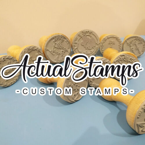 Rubber Stamp for Guest Favors Save the Date Personalized Stamps Wedding Stamp