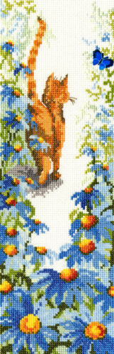Bothy Threads ~ Counted Cross Stitch Kit ~ Follow Me 2 ~ Cats ~ XFM2