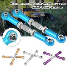 2pcs hsp 94111//94188 aluminum steering linkage 1:10 rc upgrade parts  BHJKUS