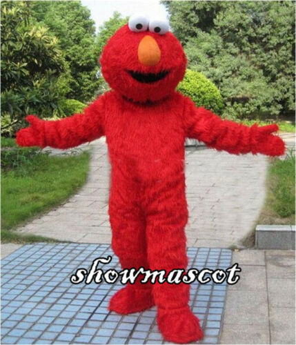 Big Bird Elmo Cookie Sesame Street Mascot Costume Party Fancy Dress AdultCosplay