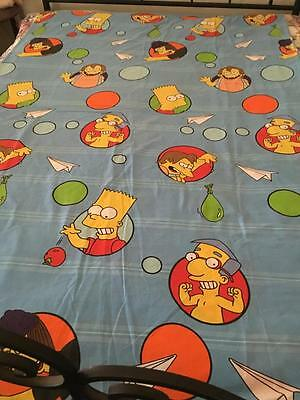 THE SIMPSONS/BART/ SINGLE QUILT COVER/FABRIC MATERIAL / NOVELTY  - BUY NOW -