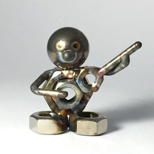 KB mit Akustik-Gitarre Kleiner Bruder Edelstahl 3 cm