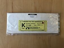 Omega Chal Bare Wire Type K Thermocouple Probes 5 Pack New