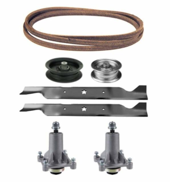 Sears Craftsman Yt 3000 46 Mower Deck Rebuild Parts Kit Spindles Blades Belt For Sale Online Ebay