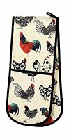 Ulster Weavers Rooster Double Oven Glove Free Shipping