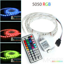 3M 5050 IP65 RGB LED STRIP LIGHTING IDEAS TV BACK LIGHTS COLOUR CHANGING RIBBON