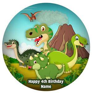 Edible Image Dinosaur Photo