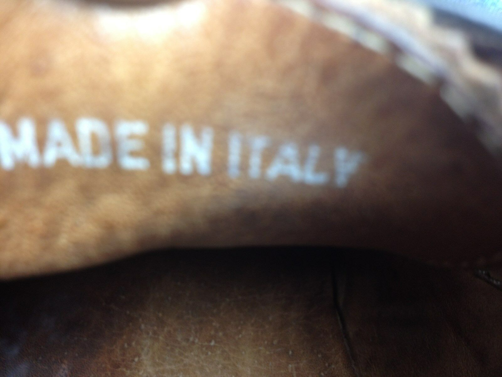 MADE LEATHER IN ITALY BROWN WING TIP VINTAGE LEATHER MADE LACE UP POWER SATURDAY OXFORDS 11 D bbf2e8
