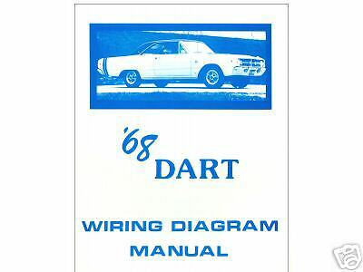1968 68 DODGE DART WIRING DIAGRAM MANUAL | eBay