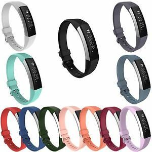 Hot-Silicone-Wristband-Wrist-Band-Strap-Bracelet-For-Fitbit-Alta-HR-Tracker-S-L