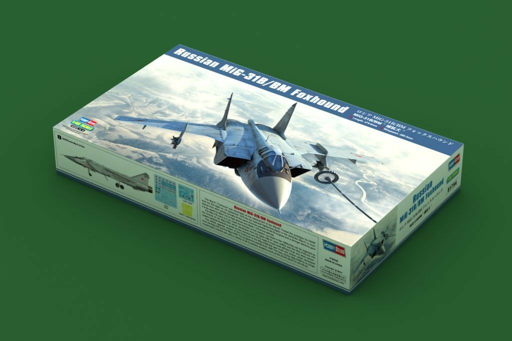 Hobbyboss 81754 1 48 Russian Mig-31B BM Foxhound Model Kit