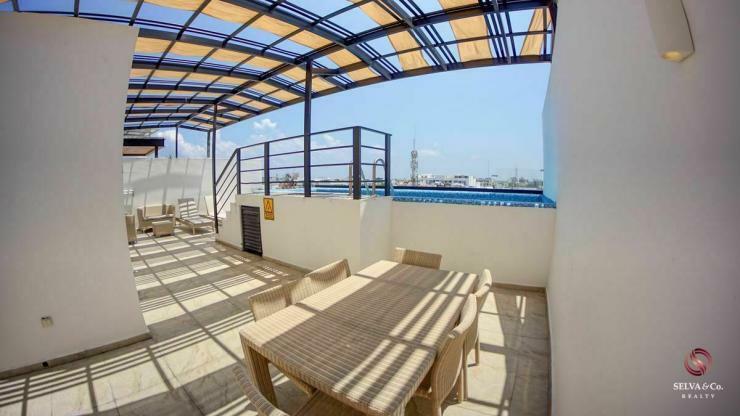Penthouse, terraza con alberca privada, sistema lock off