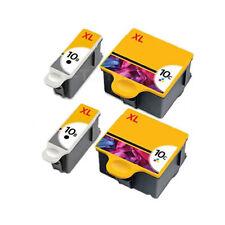 4PK Compatible Ink 10BK 10CL for Kodak 10XL  HERO 6.1  HERO 7.1  HERO 9.1